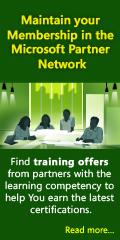 Microsoft Partner Network Training Offers
