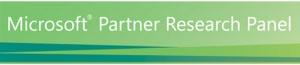 Microsoft Partner Research Panel Logo